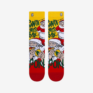 Load image into Gallery viewer, Funny Santa Clause Socks For Women