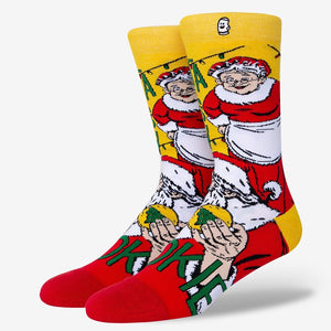 Load image into Gallery viewer, Hilarious Santa Clause Socks For Men