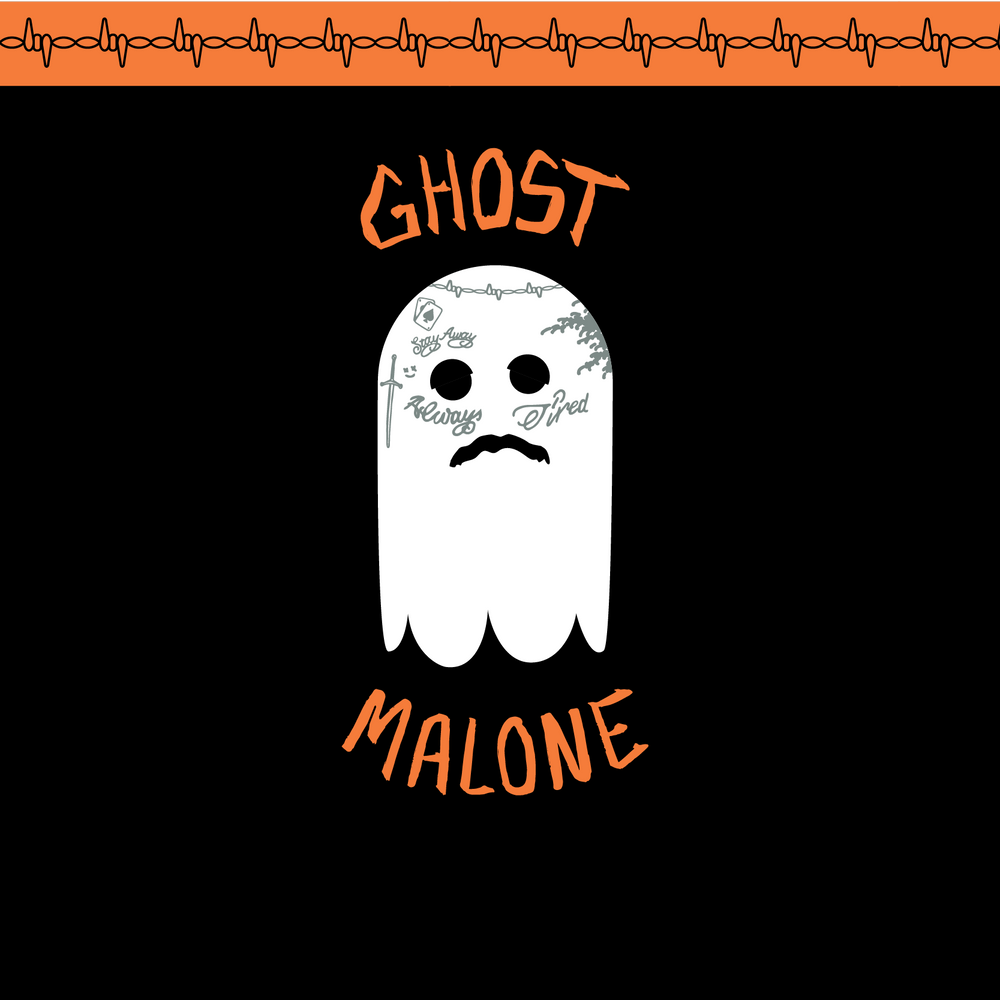 Load image into Gallery viewer, Funny Ghost Malone Socks