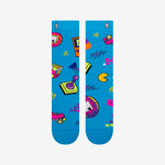 90's print socks for men