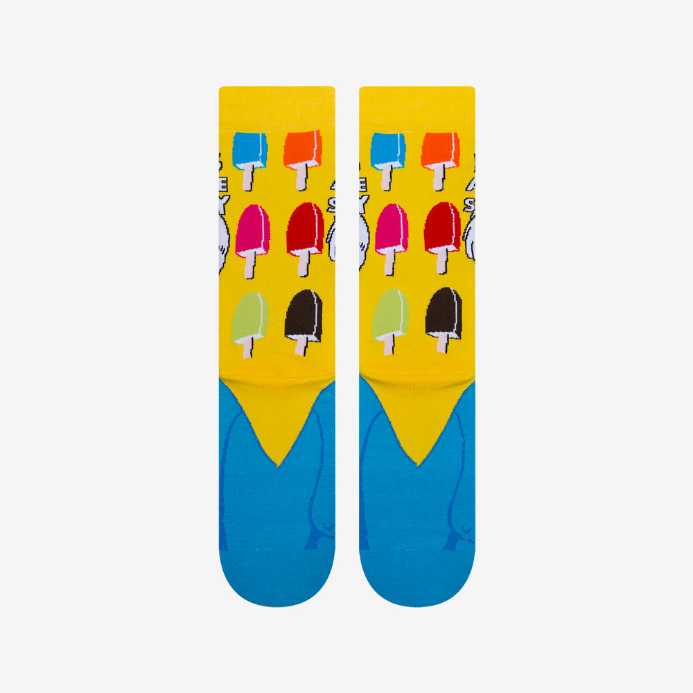 Load image into Gallery viewer, Funny Unisex Ice Cream Flavors Neon Socks