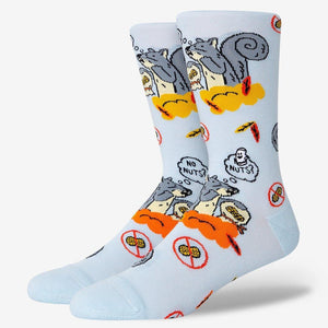 Funny Squirrel Socks For Men