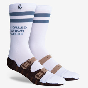 Fashionable Meme Shoe Socks for Men