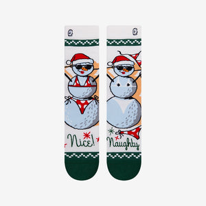 Load image into Gallery viewer, Funny Snowman Socks For Men