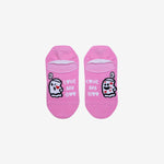 bae love pink ankle socks