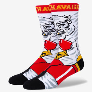 Load image into Gallery viewer, white tiger socks