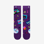 90's Electric Dance Crew Socks