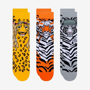 Load image into Gallery viewer, Tiger King Print Socks