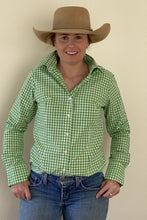Load image into Gallery viewer, Green Gingham Plain Jane