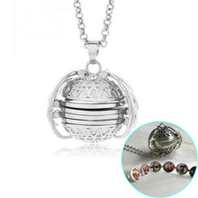 Load image into Gallery viewer, Angel Wings Album Locket- Silver plated