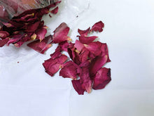 Load image into Gallery viewer, Organic Bath Bomb with Rose Petals and Jasmine Essential Oils