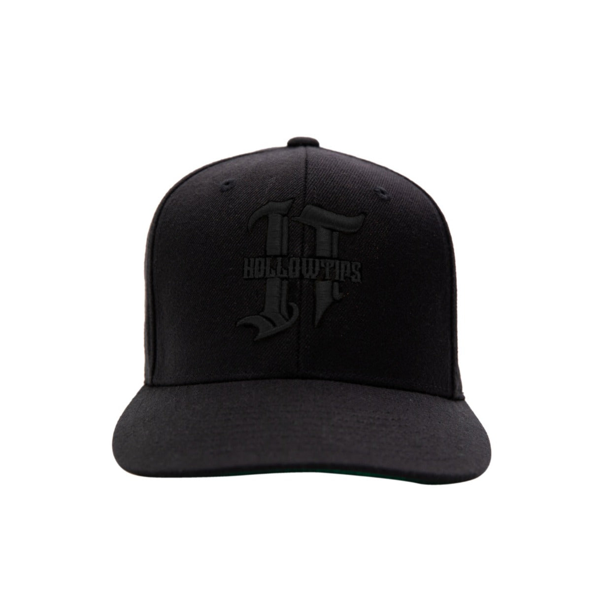 Logo Snapback - Black on Black