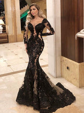 Laden Sie das Bild in den Galerie-Viewer, Smileven Mermaid Formelles Abendkleid