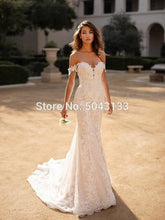 Laden Sie das Bild in den Galerie-Viewer, Charming Sweetheart Mermaid Brautkleider 2021