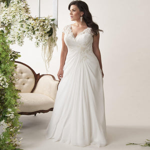 Plus Size Brautkleid - Olga -