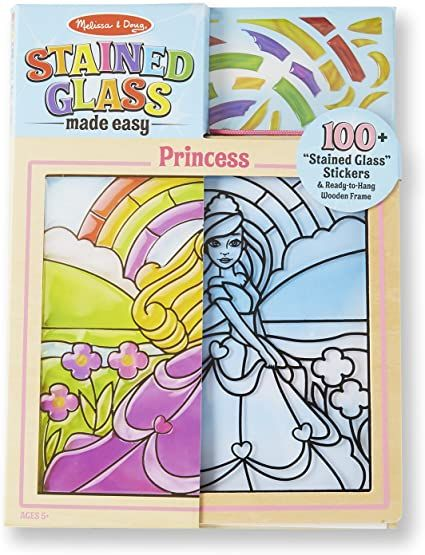 Melissa & Doug Stained Glass Made Easy Princess