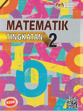 Load image into Gallery viewer, Buku Teks Matematik Tingkatan 2