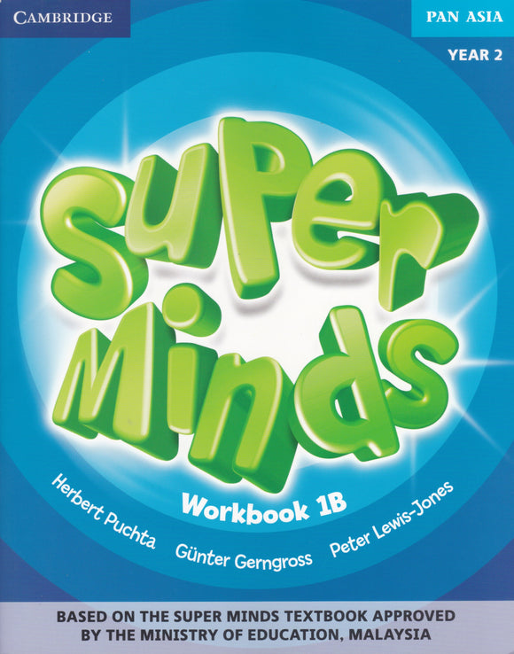 Buku Aktiviti Super Minds Workbook 1B Year 2 Activity Book