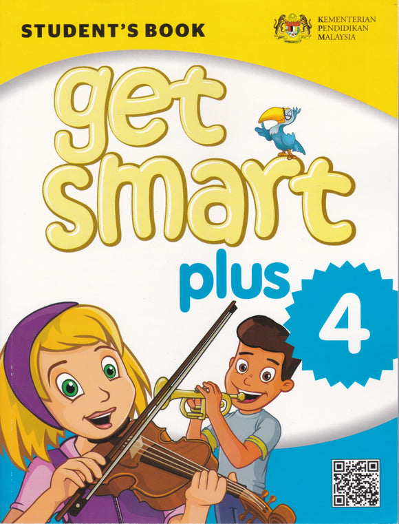 Buku Teks Get Smart Plus 4 Student's Book With CD Year 4 Textbook