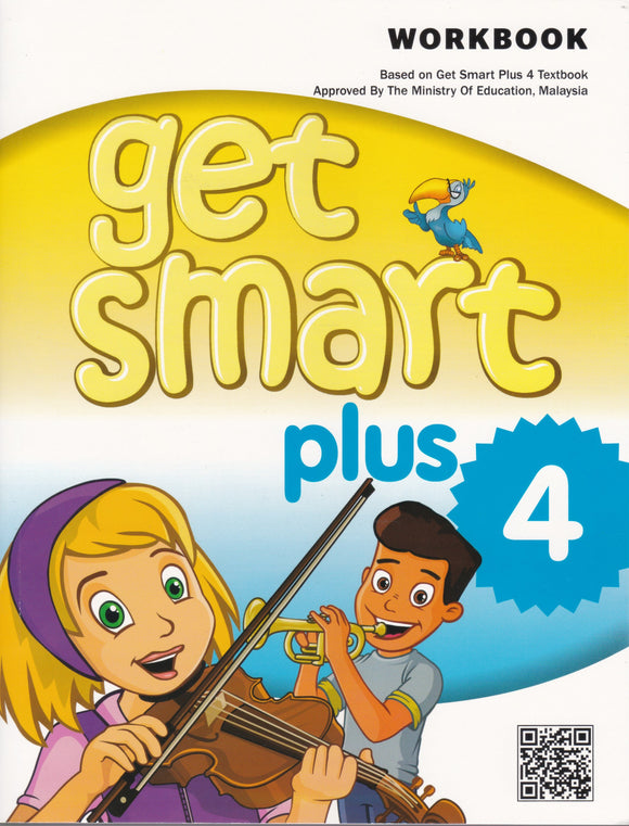 Buku Aktiviti Get Smart Plus 4 Workbook Year 4 Activity Book