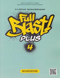 Buku Aktiviti Full Blast Plus 4 Workbook Form 4 Activity Book