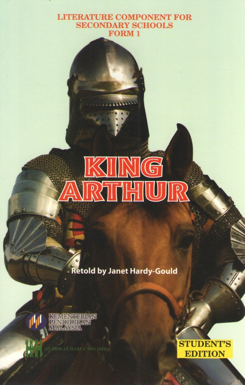 Harfa: Buku Teks Komsas King Arthur Form 1 Literature Component Textbook