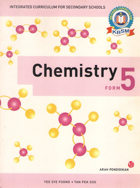 Buku Teks Chemistry Form 5 DLP Textbook