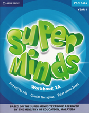 Load image into Gallery viewer, Buku Aktiviti Super Minds Workbook 1A Year 1 Activity Book