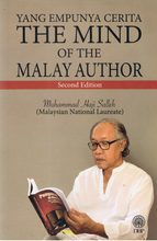 Load image into Gallery viewer, DBP: Yang Empunya Cerita The Mind Of The Malay Author Second Edition