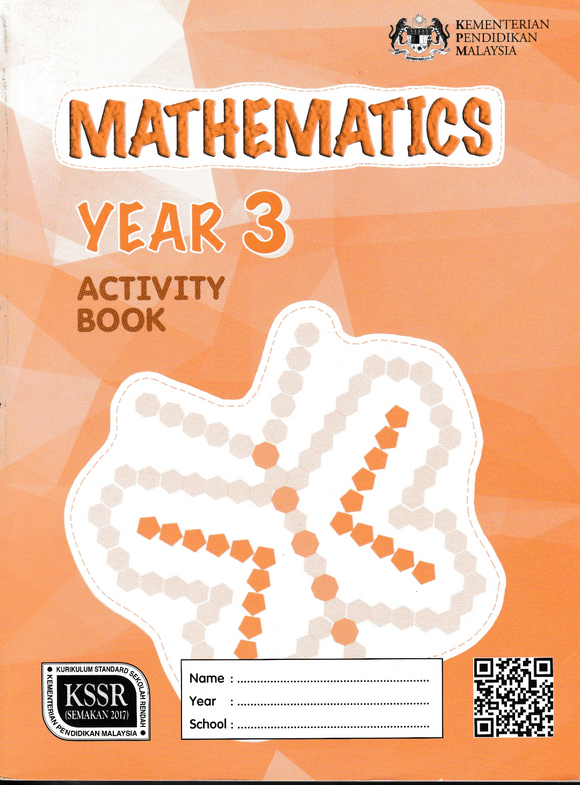 Buku Aktiviti Mathematics Year 3 DLP Activity Book