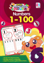 Load image into Gallery viewer, EarlyLearner: Basic Writing Skill And Colouring: Numbers 1 - 100