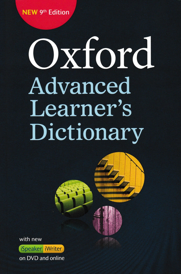 Oxford Advanced Learner's Dictionary: New 9th Edition With DVD And Online