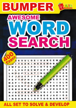 Load image into Gallery viewer, Edukid: Bumper Awesome Word Search