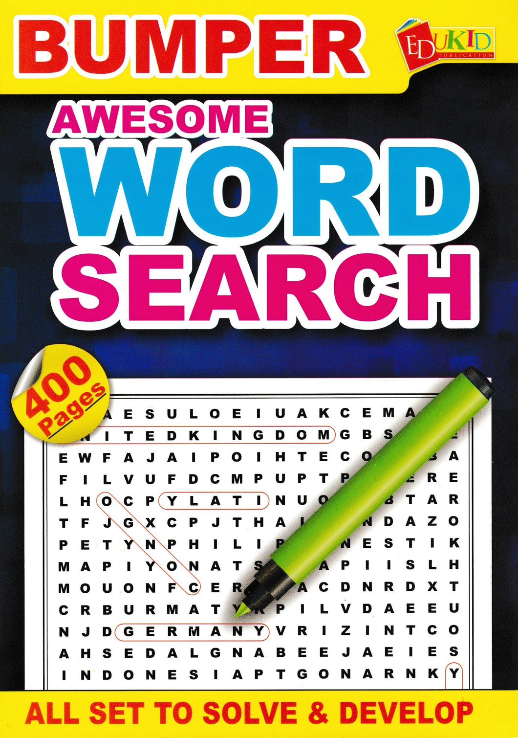 Edukid: Bumper Awesome Word Search