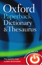 Load image into Gallery viewer, Oxford Paperback Dictionary & Thesaurus Third Edition