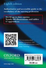Load image into Gallery viewer, OxfordUniversityPress: Oxford Minidictionary For Nurses