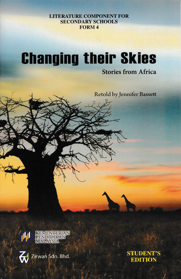 Buku Teks Komsas Changing Their Skies Form 4 Literature Component Textbook