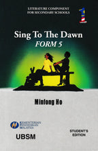 Load image into Gallery viewer, UBSM: Buku Teks Komsas Sing To The Dawn Form 5 Literature Component Textbook