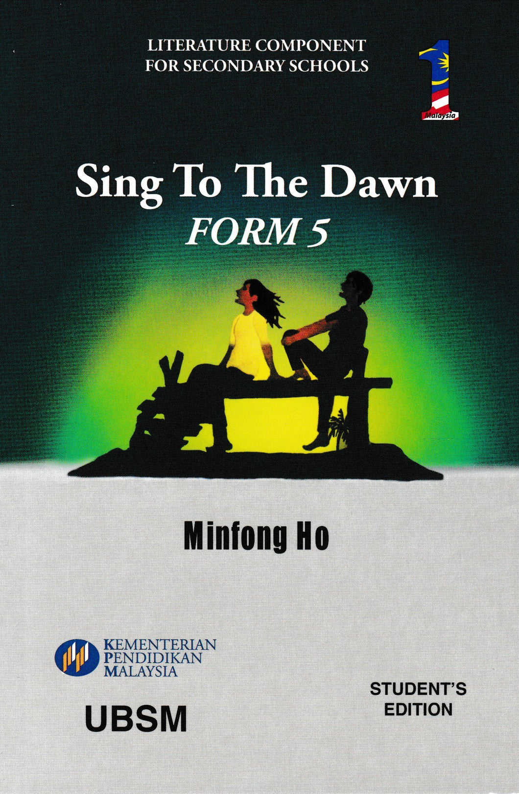 UBSM: Buku Teks Komsas Sing To The Dawn Form 5 Literature Component Textbook