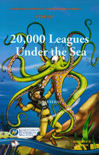 Load image into Gallery viewer, DelimaIlmu: Buku Teks Komsas 20000 Leagues Under The Sea Form 1 Literature Component Textbook