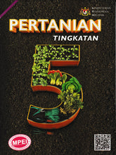 Load image into Gallery viewer, MultiEducational: Buku Teks Pertanian Tingkatan 5
