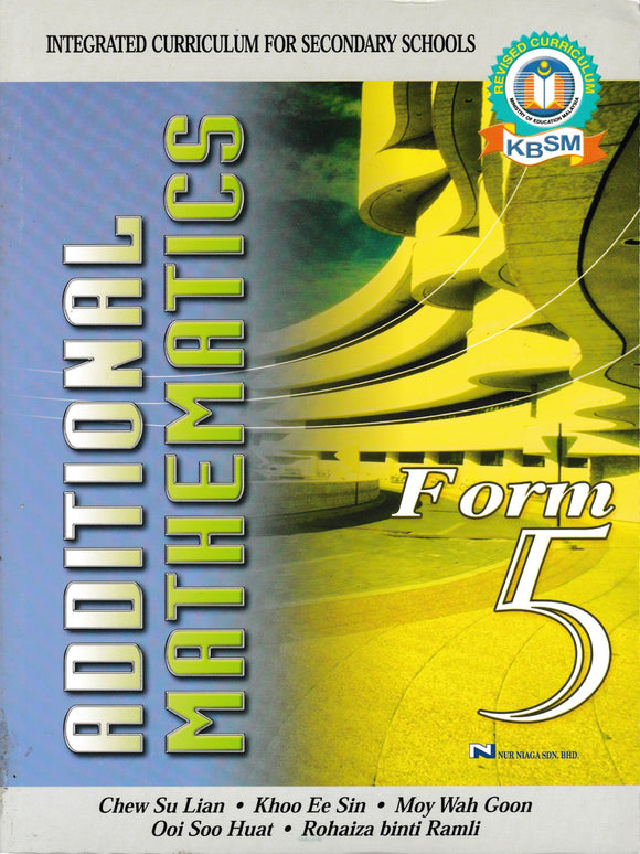 Buku Teks Additional Mathematics Form 5 DLP Textbook