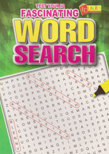 Load image into Gallery viewer, Edukid: Test Your IQ: Fascinating Word Search