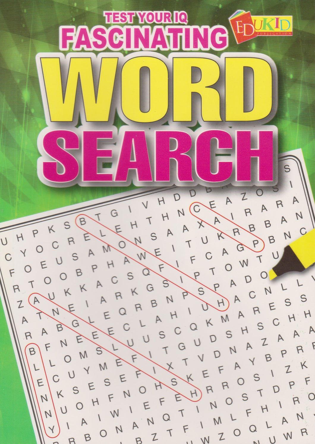 Edukid: Test Your IQ: Fascinating Word Search