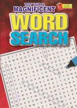 Load image into Gallery viewer, Edukid: Test Your IQ: Magnificent Word Search