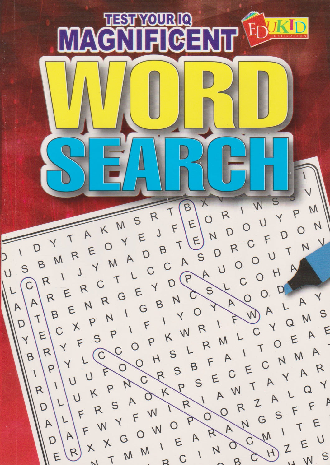 Edukid: Test Your IQ: Magnificent Word Search