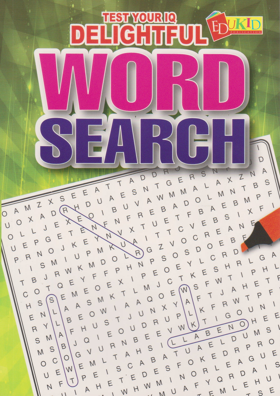 Edukid: Test Your IQ: Delightful Word Search
