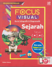Load image into Gallery viewer, Pelangi 2021: Focus Visual Sejarah UPSR