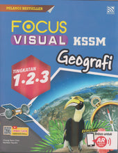 Load image into Gallery viewer, Pelangi 2021: Focus Visual Geografi PT3