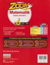 Load image into Gallery viewer, OxfordFajar: Zoom Matematik / Mathematics Dwibahasa Tahun / Year 6
